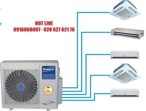 Vệ sinh máy lạnh âm trần quận 4